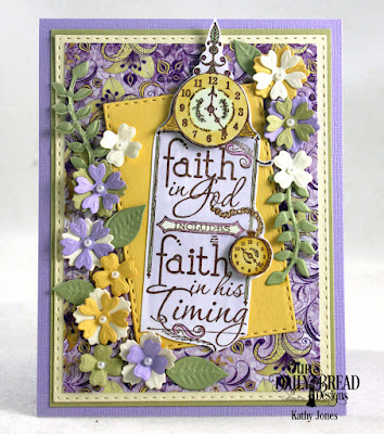Our Daily Bread Designs Stamp: His Timing, Our Daily Bread Designs Custom Dies: Bitty Blossoms, Leaves and Branches, Double Stitched Rectangles,, Our Daily Bread Designs Paper Collection:Whimsical Wildflowers