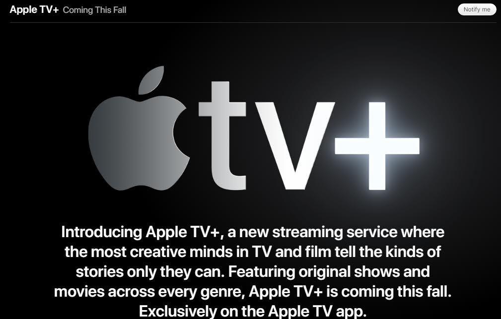 Apple TV+: A New Streaming Service For You