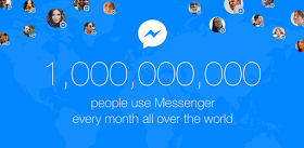 Messenger one billion users