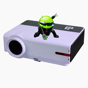 LED Android Projector DS808 Wifi (All in 1 ) 16,900 B