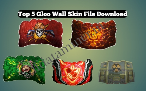 Free Gloo Wall Skin In Free Fire Top 5 Gloo Wall Skin