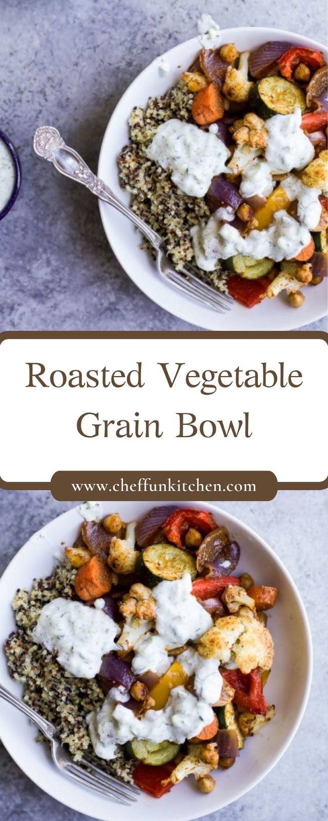 Roasted Vegetable Grain Bowl