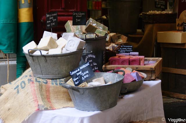Particolare di negozio tipico provenzale