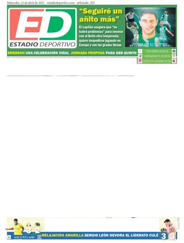 """Betis, Estadio Deportivo: """"Seguiré un año más"""""""