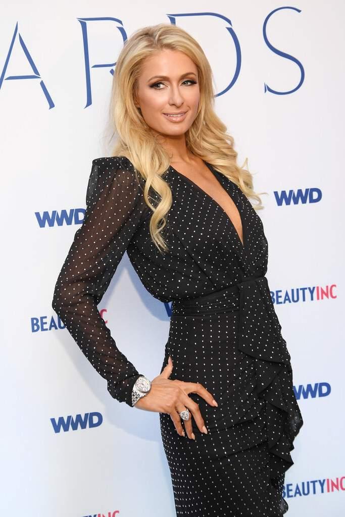 Paris Hilton – WWD Beauty Inc Awards in New York