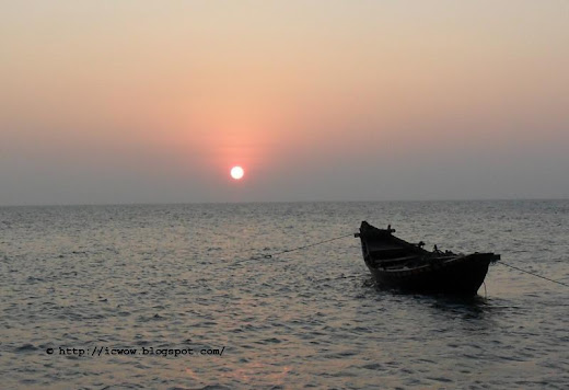 Sunrise in St Martin's Island, Bangaldesh