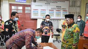 Bupati Lamtim Beri Sambutan Dalam Acara Sertijab Dinas Pendidikan dan Kebudayaan