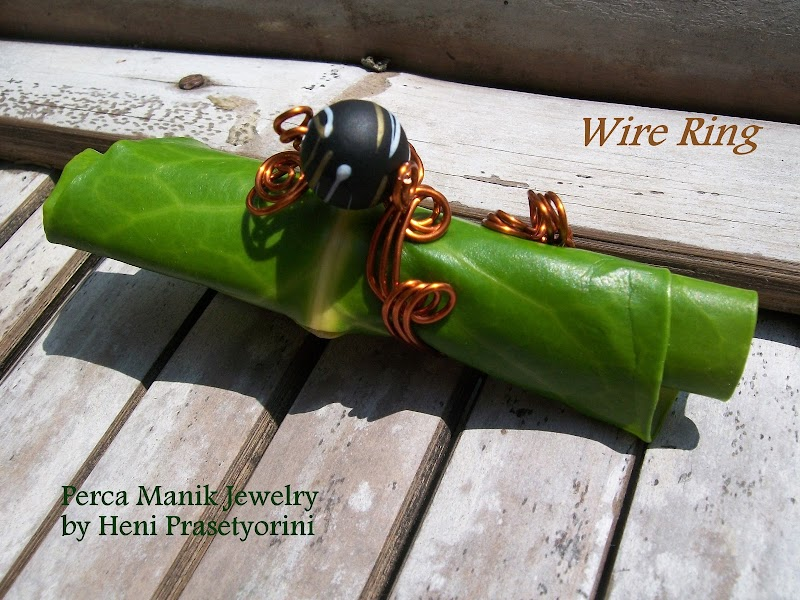 Perca Manik : Batik Ethnic Wire Jewelry