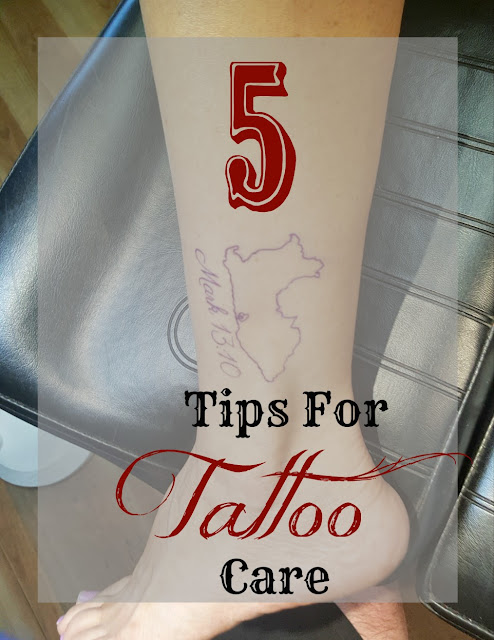 After you get your tattoo, make sure you care for it with some of these tips!