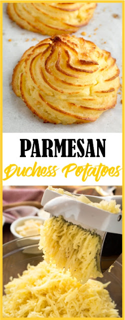 PARMESAN DUCHESS POTATOES