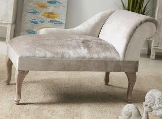 Banco divan tapizado