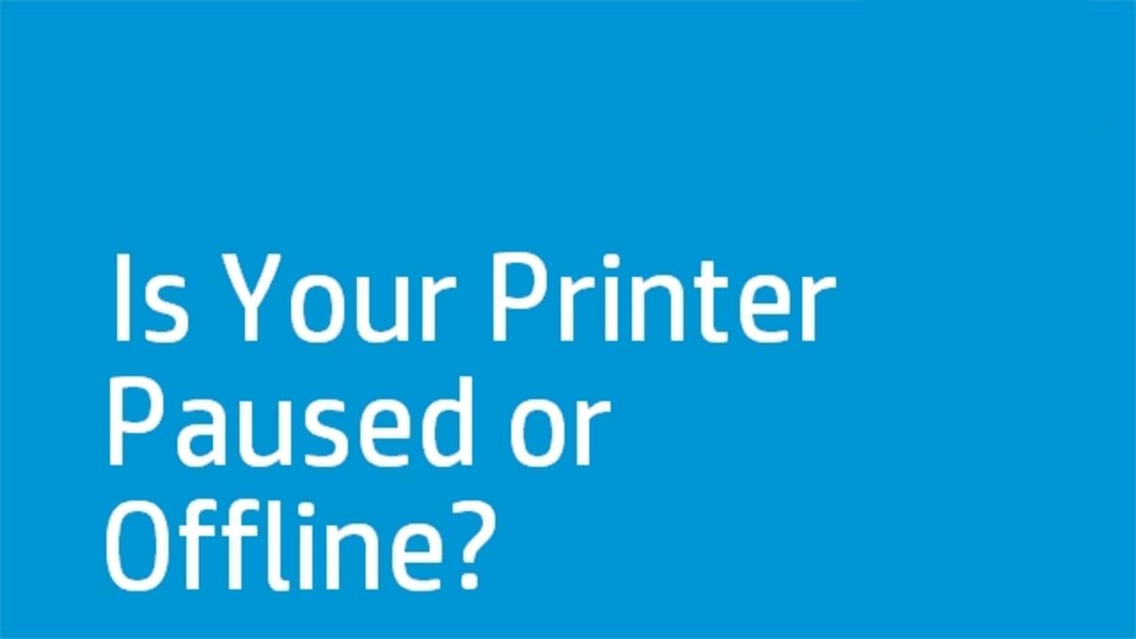 HP Photosmart C4700 Series Printer Offline Solution