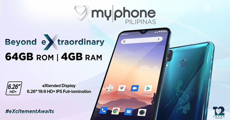 MyPhone MyX12 teased, a budget phone with 4GB RAM/64GB storage