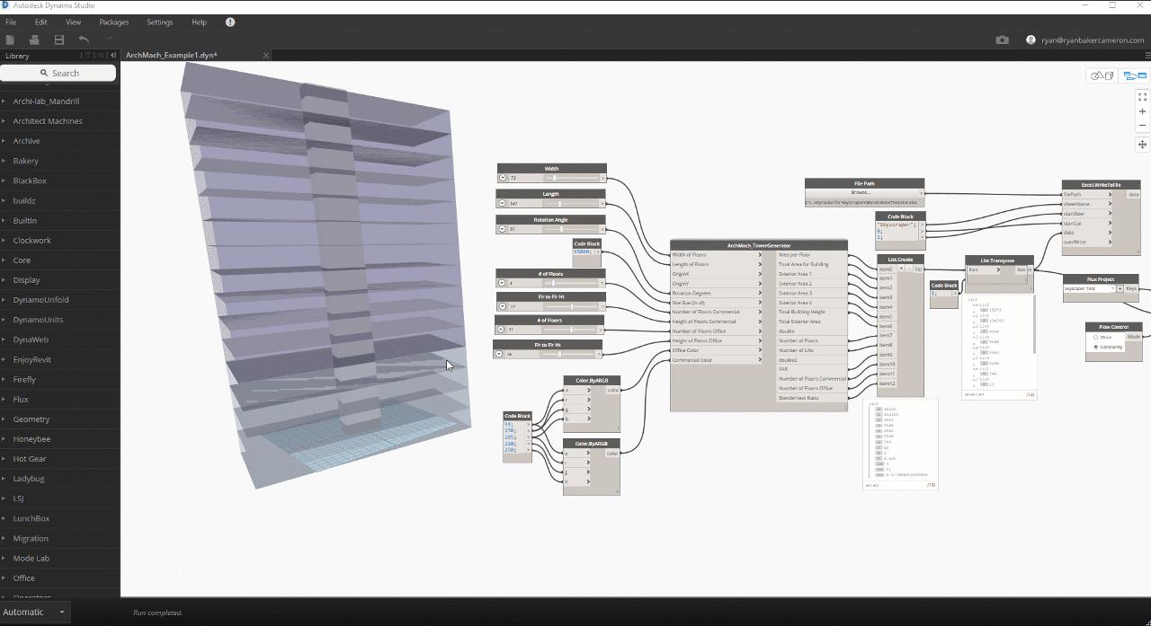 Revit Add-Ons: Tower Generator with Dynamo Studio