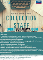 We Are Hiring at Waterplace Residence Surabaya Januari 2020