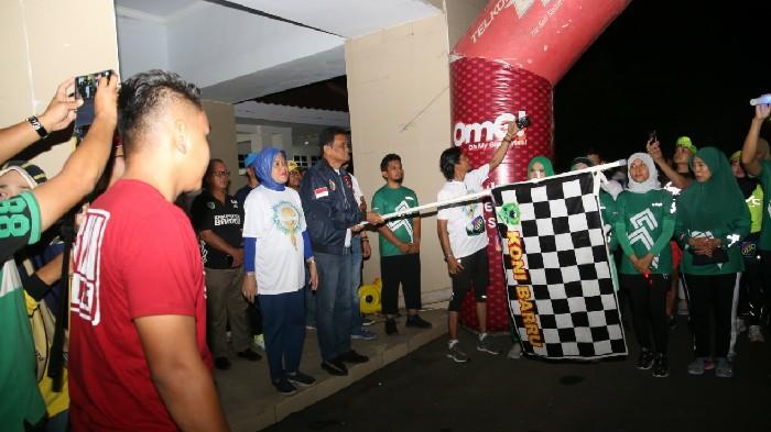 Peduli Sesama, Night Run for Dhuafa Barru Kumpulkan Rp15 Juta