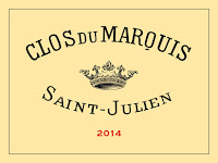 The Clos du Marquis wine label from the Domain Delon in Bordeaux
