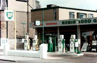 Robin Hood Garage 1964