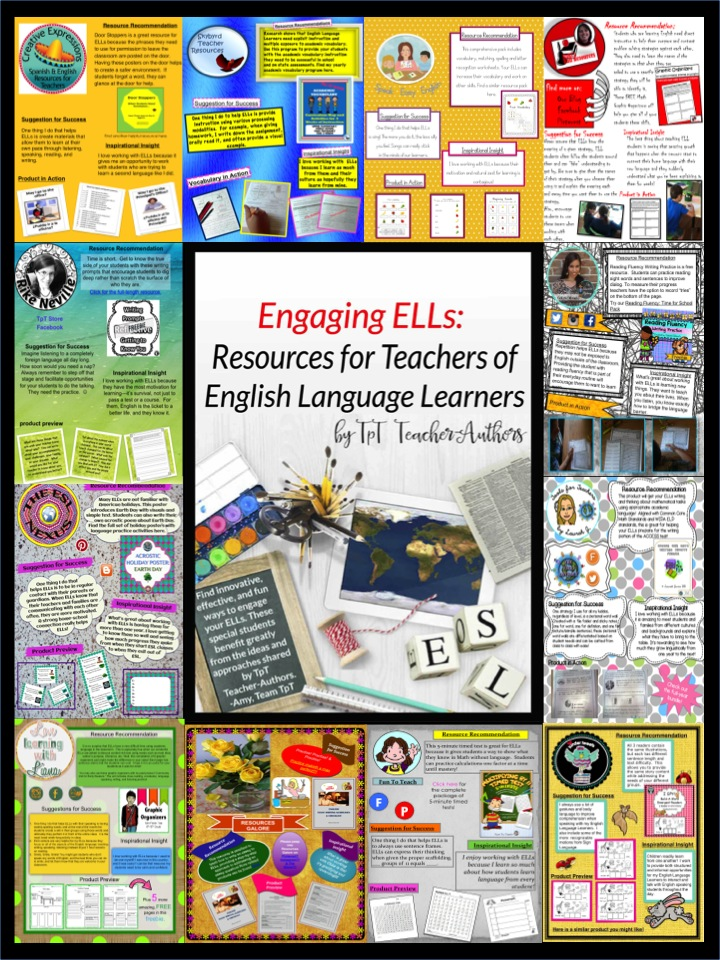 ELL sampler in The ESL Nexus TpT store