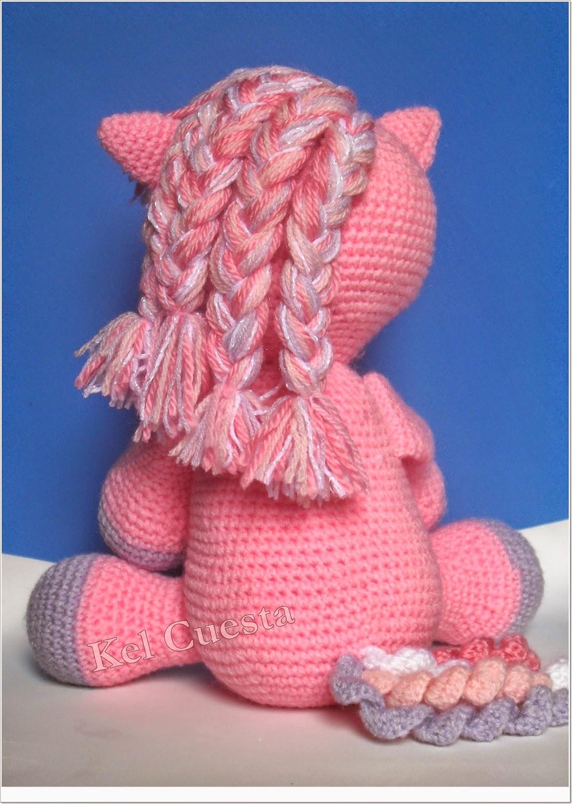 Pantera cor de rosa no Elo7 | Crochê da Lê (DB4F09) | 1600x1139