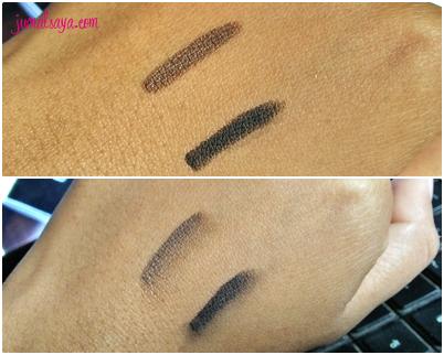eyeliner coklat dan hitam yang bagus