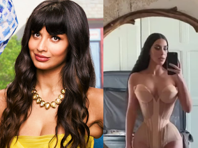 Actress Jameela Jamil Condemns Kim Kardashian's Use Of Corsets And Advises Women Not To Be Influenced By Unhealthy Beauty Standards
