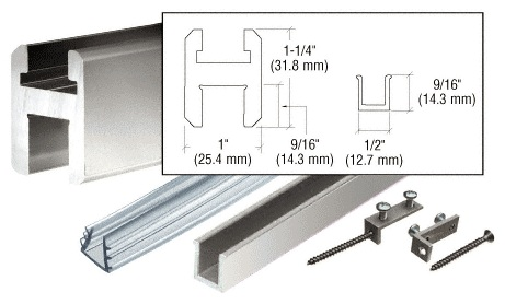 Flat or Square Header Rail Kit