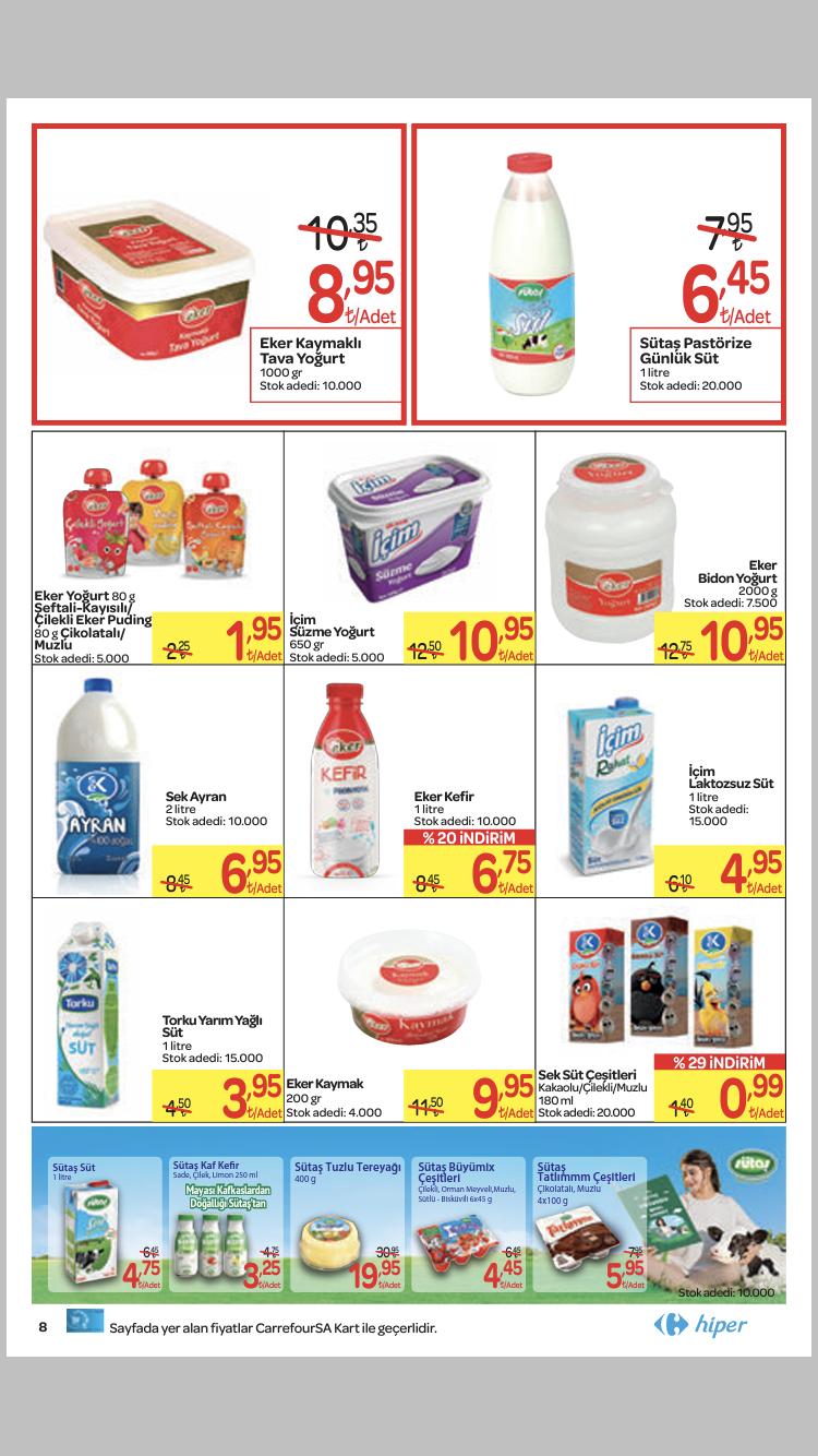 Carrefour Hiper İndirim Kampanya Kataloğu 24 Ekim 30 Kasım