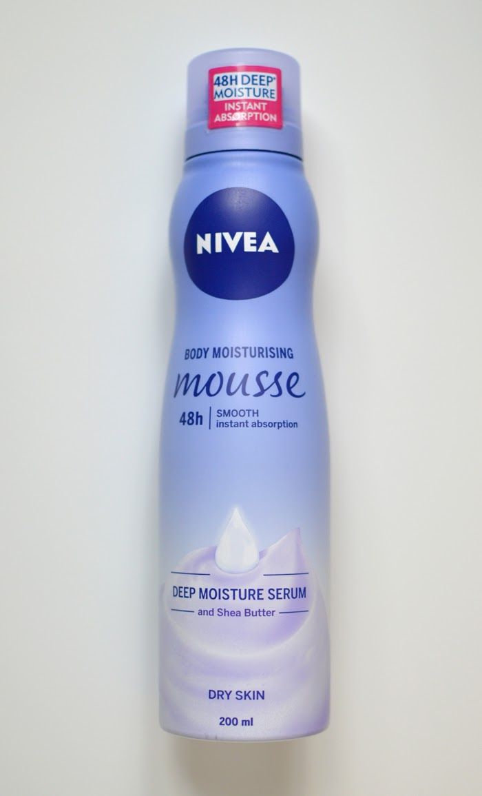 Nivea Body Moisturising Mousse