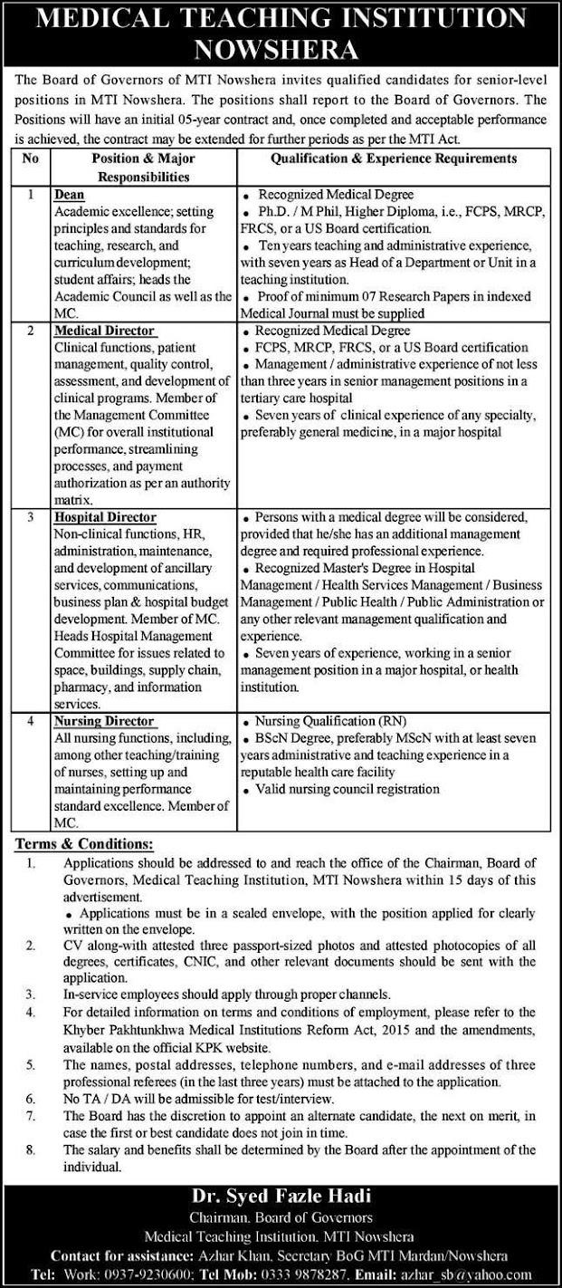 Medical-Teaching-Institution-Jobs-2021
