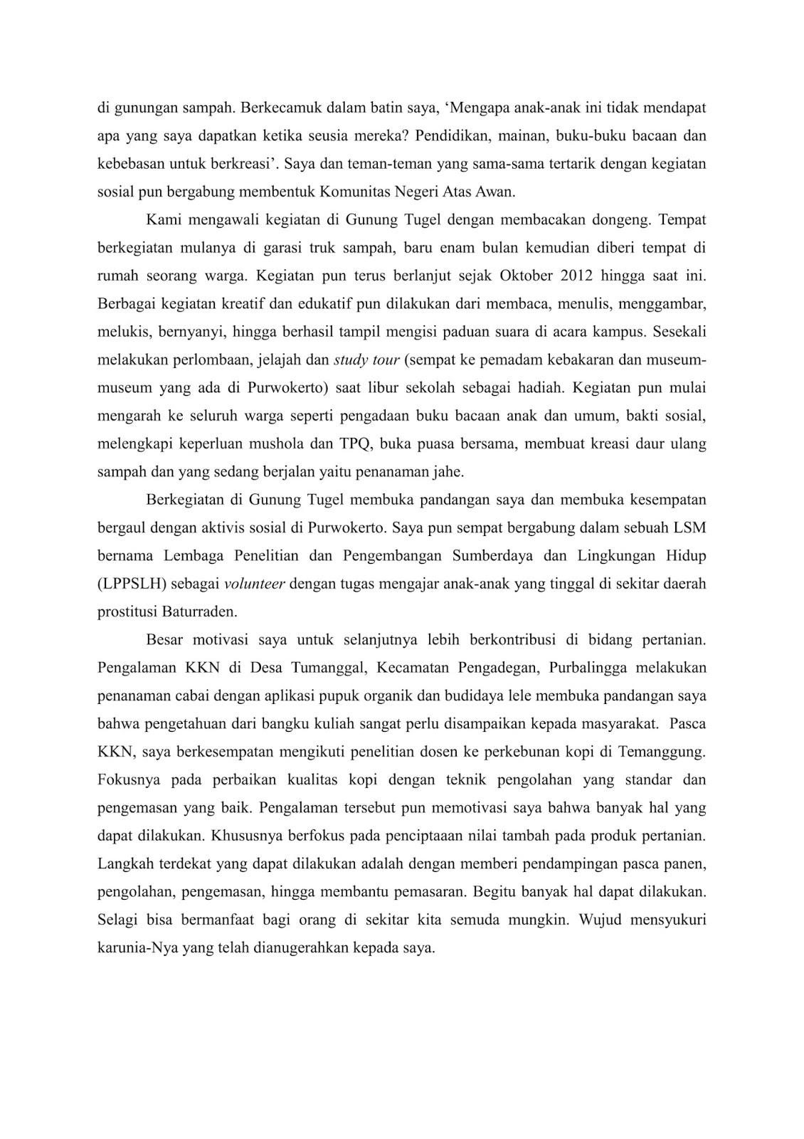 Menulis Essay Untuk Lpdp Academic Essay Writing