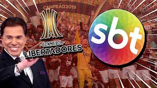 SBT passa na frente da Globo e vai  transmitir a Libertadores
