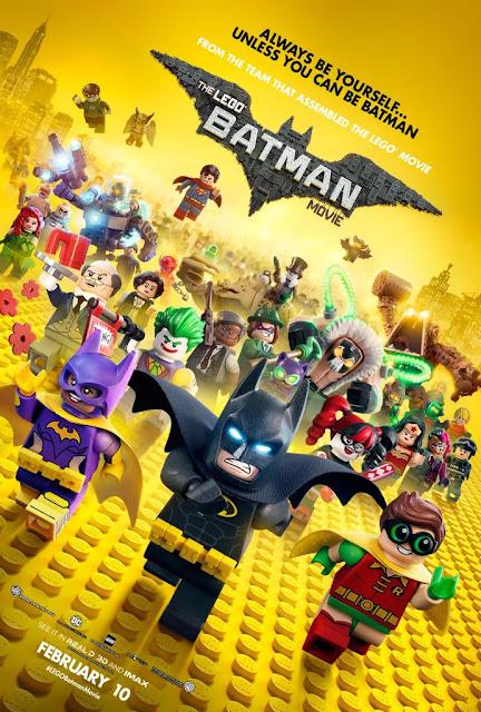 LEGO Batman il film recensione poster