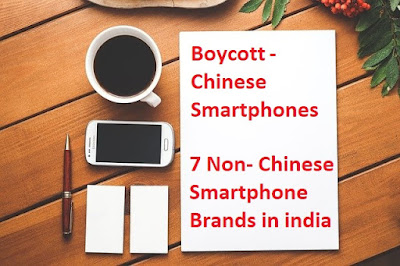 Non chinese mobile brands in india, Non chinese mobile brands