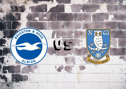 Brighton & Hove Albion vs Sheffield Wednesday  Resumen