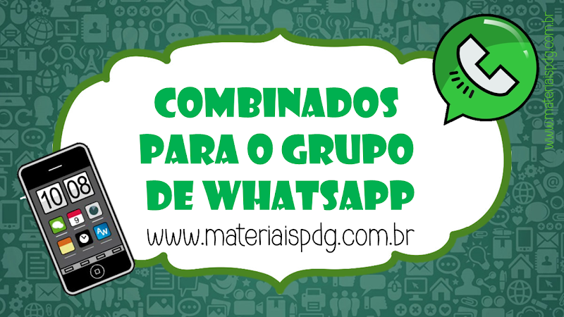 COMBINADOS PARA GRUPO DE WHATSAPP - PDF