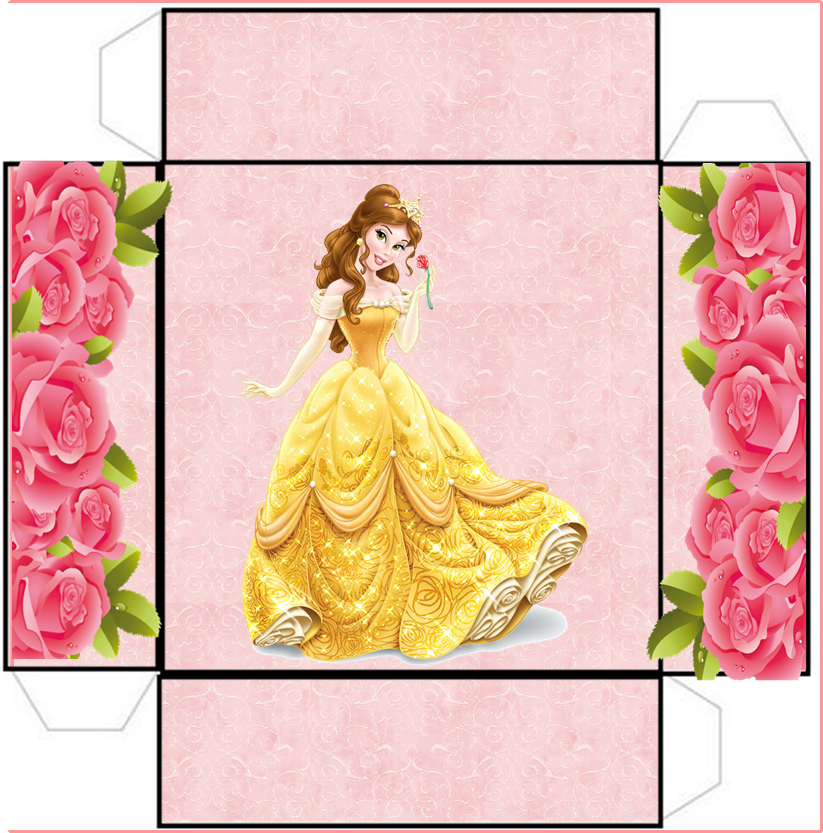 Cute Free Party Printables for a Beauty and the Beast Party.