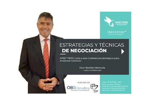 Webinar: ESTRATEGIAS Y TÉCNICAS DE NEGOCIACIÓN