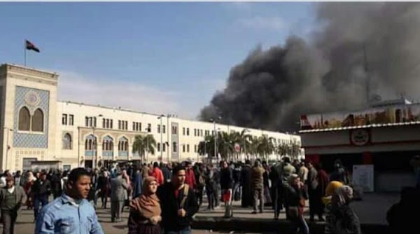 Kebakaran Kereta Api di Stasiun Ramsees