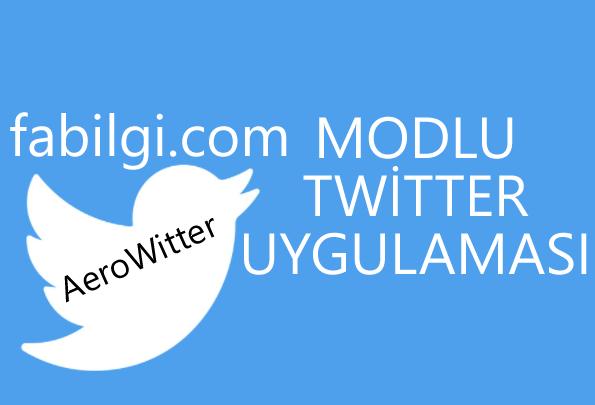 Twitter Plus AeroWitter Uygulaması İndir (Modlu Twitter) 2021