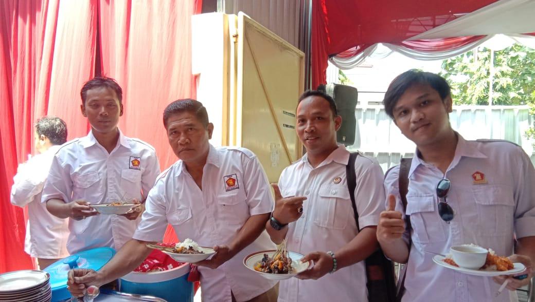 Syukuran Hari Ulang Tahun (HUT) ke-12 Partai Gerindra di kantor DPD Partai Gerakan Indonesia Raya (Gerindra) Provinsi Jawa Tengah (Jateng)