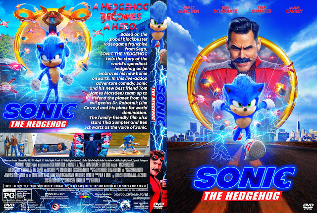 Sonic the Hedgehog DVD Cover