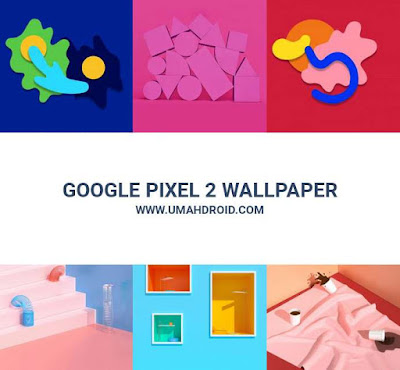 Wallpaper Google Pixel 2 XL Full Rar