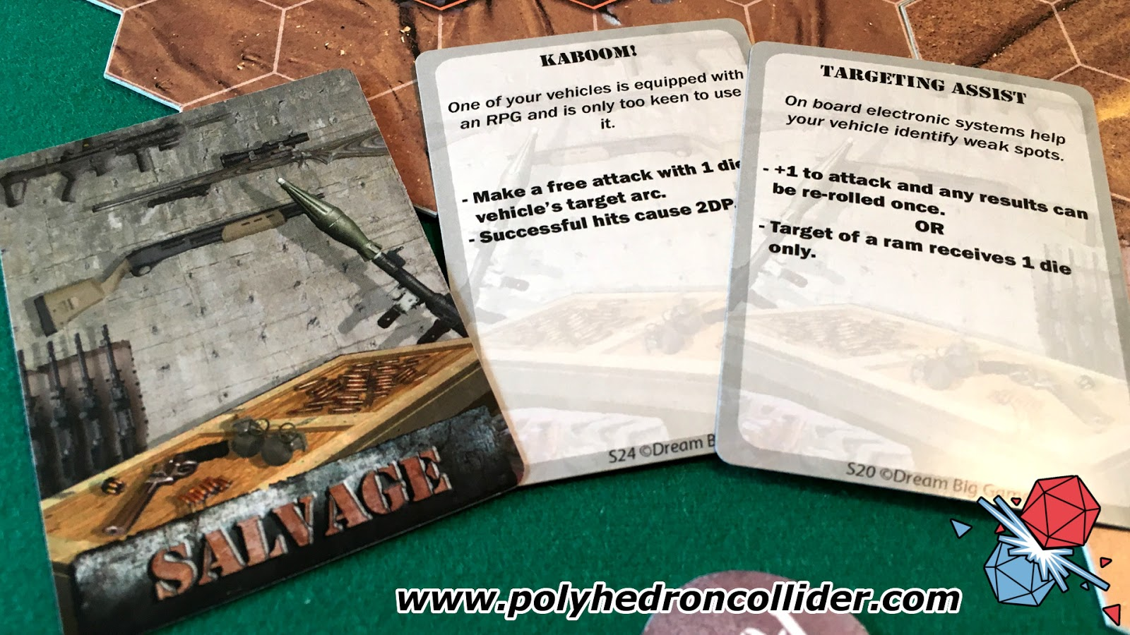 Wreck and Ruin Kickstarter review salvage cards
