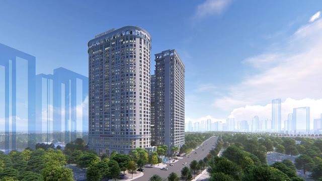 Phối cảnh dự án Sunshine Garden Minh Khai