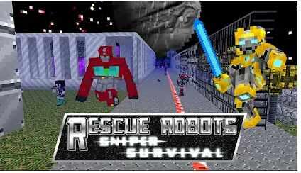 Game Rescue Robot Sniper Survival