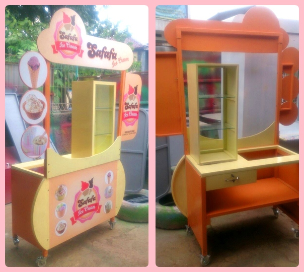 Booth Portable-Meja Promosi-Display Pameran