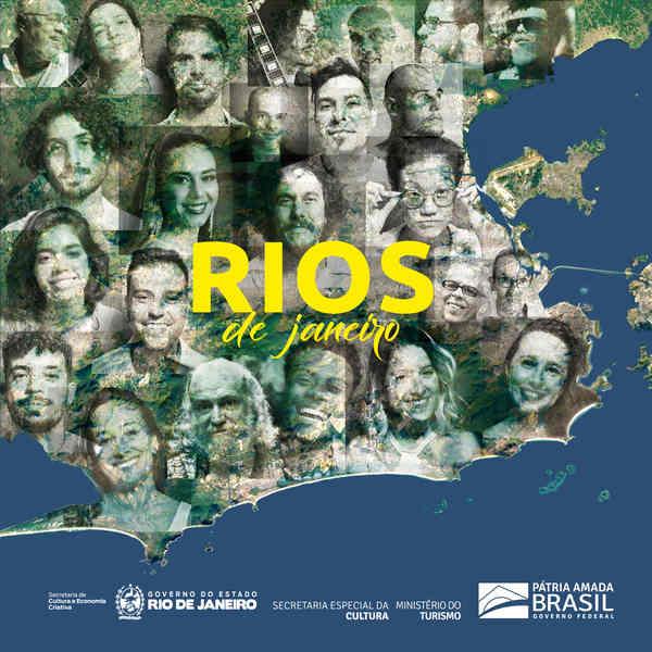"""Uma carta de amor a um Rio de Janeiro de tantas cores e desafios, alegrias e contradições. Este é o ponto de partida de """"Rios de Janeiro"""", álbum que traz 12 faixas de artistas e compositores selecionados através de um concurso que reuniu cerca de 140 compositores e 180 músicas inscritas."""
