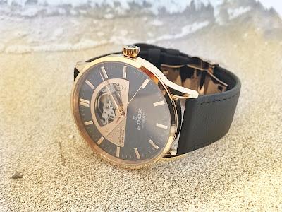 腕時計 EDOX レヴォベール ベルト交換