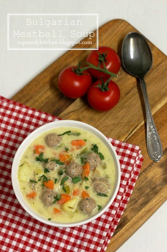 supa topcheta, супа топчета, българска супа топчета